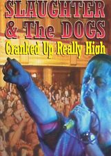 """NEW,SEALED AND OFFICIAL SLAUGHTER AND THE DOGS """"CRANKED UP REALLY HIGH"""" DVD"""