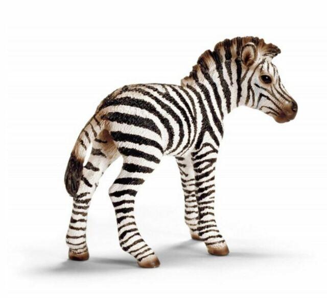 Schleich Wild Life - Zebra foal - 14393 - Authentic - New