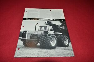 White 4-180 Tractor Dealer/'s Brochure PBPA