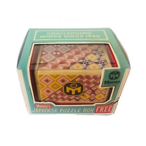 Mensa Japanese Puzzle Box - IQ-1051