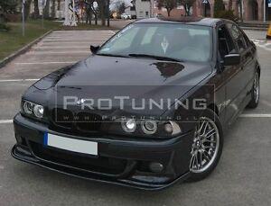 For-BMW-E39-M-Sport-Front-Bumper-Lip-Spoiler-Splitter-Valance-Skirt-chin-appron