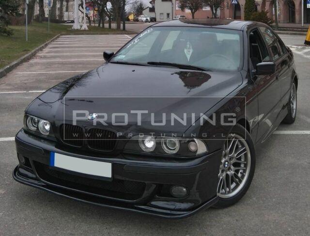 For BMW E39 M Sport Front Bumper Lip Spoiler Splitter Valance Skirt chin appron