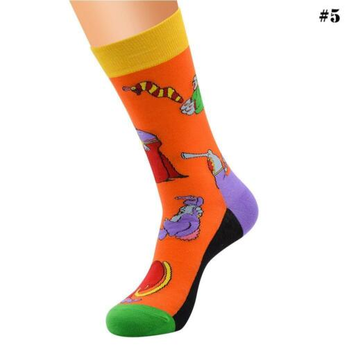NEW Unisex Combed Cotton Sock Animal Alien Panda Moustache Novelty Casual Sock