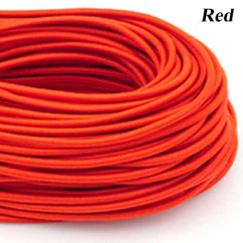 Fabric Apparel Craft DIY Line Colorful Round Rubber Sewing Rope Elastic Band