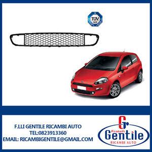 FIAT-PUNTO-dal-2012-3-Porte-Griglia-paraurti-anteriore-centrale