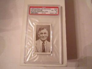 1938-TED-BROADRIBB-45-BOXING-CARD-WA-amp-AC-CHURCHMAN-PSA-GRADED-6-TUB-CH