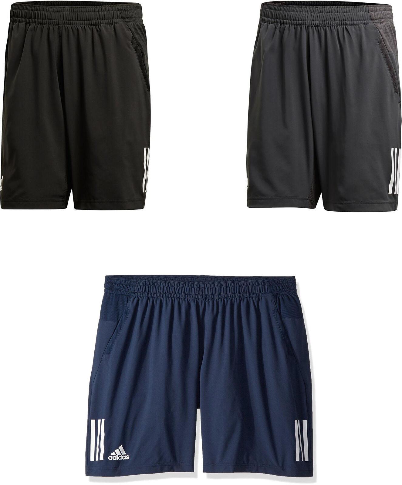 59119fbad75d adidas Men's Tennis Club 3 Stripes Shorts, 4 Colors | eBay
