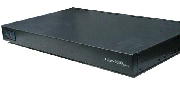 Cisco 2501 1-Port Wired Router (CICSO2501) Refurbished Tested Working