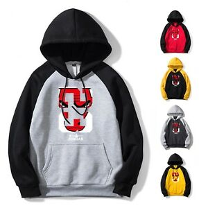 61a84a03cc34b9 Mens Hoodie Michael Air Jordan 23 Chicago Bulls Sweatshirt Hoodies ...