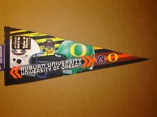 2011 Tostitos National BCS Game Auburn vs Oregon NCAA College Pennant