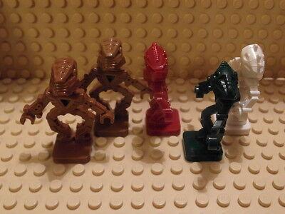 Angemessen Lego 5 X Figures gmt20 Bionicle Minifig Eine GroßE Auswahl An Farben Und Designs Toa Hordica