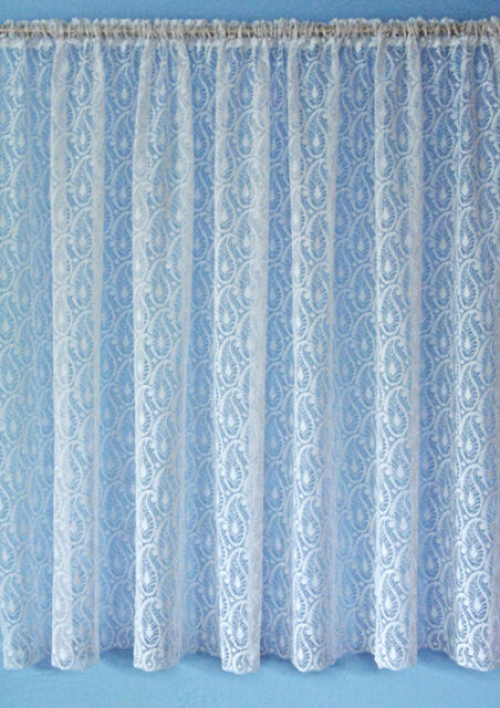 Paisley Design Net Curtain