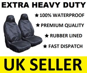 100/% WATERPROOF JEEP WRANGLER EXTRA HEAVY DUTY CAR SEAT COVERS PROTECTORS X2