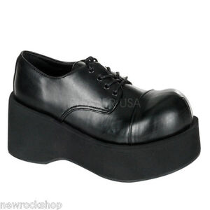 Demonia-Dank-101-Black-Pu-Goth-Punk-Rockabilly-Cyber-Platform-Shoes