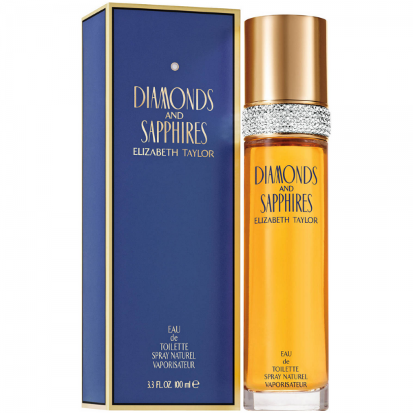Elizabeth Taylor Diamonds and Sapphires Fragrance for Women 100ml EDT Spray