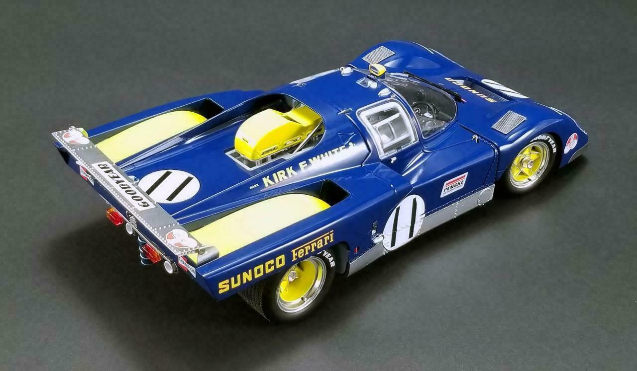 Acme Masterpiece 1 18 1971 le Mans Sunoco Penske Ferrari 512m  11 Donohue Hobbs