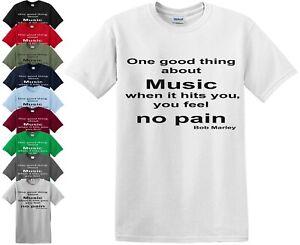 GOOD THING ABOUT Music femme T SHIRT REGGAE Cadeau Musique