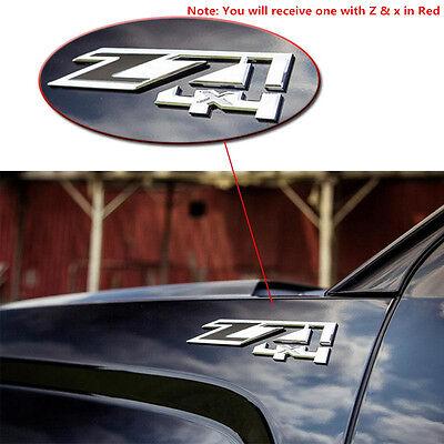 2~Z71 4x4 Emblems Chevy GMC Silverado Tahoe Suburban Sierra Avalanche