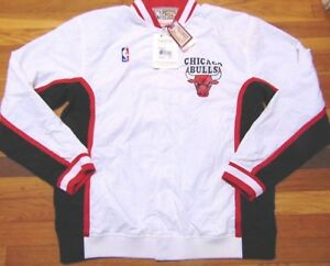 e13cfa505dd Details about MITCHELL   NESS NBA HWC CHICAGO BULLS 1992-93 WARM UP JACKET  SIZE 48 XL