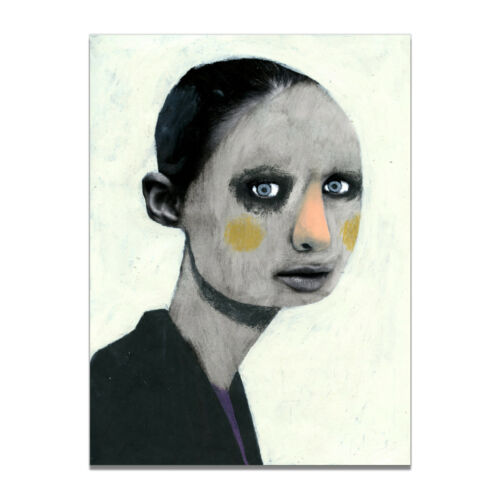 Abstract Weird Girl Canvas Poster Picture Living Room Wall Hangings Home Decor