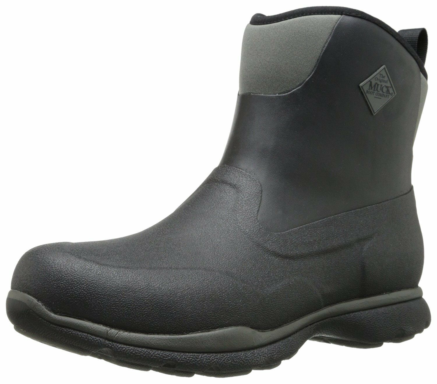 Muck Boot Mens Excursion Pro Mid Black Gunmetal  Outdoor Boot - 11 DM US