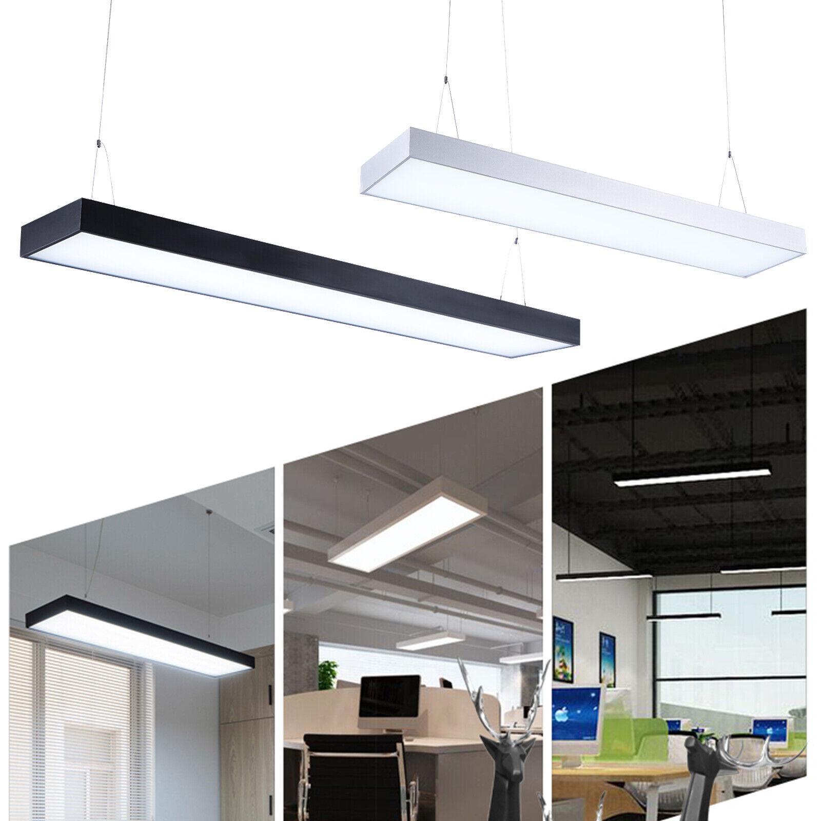48w 60w colgante lámpara de techo LED pendelleuchte Office oficina iluminación Luz