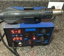 3 In 1 862d Smd Dc Power Supply Hot Air Iron Gun Rework Soldering Station Welder