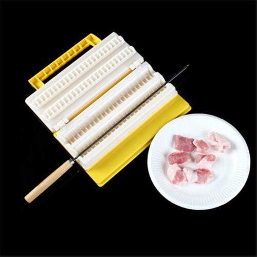 BBQ Meat Skewer Machine Plastic Meat String Device Portable Kebab Maker Xmas Q