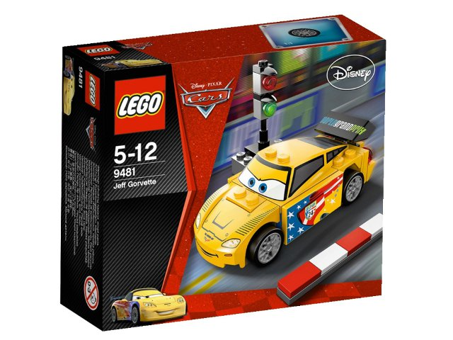 LEGO Cars 9481 - Jeff Corvette - NEUF NEW, SCELLÉE SEALED