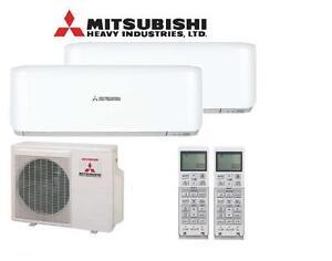 duosplit klimaanlage mitsubishi scm45zs srk20 25zs 4 5 5. Black Bedroom Furniture Sets. Home Design Ideas