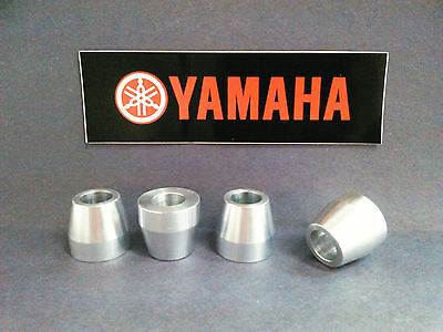 For Yamaha YZ250F YZ450F 2014-2019 CNC Billet Handlebar Clamp Mount Bushing Kit