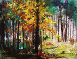 original woods pastel painting jmw art john williams expressionism