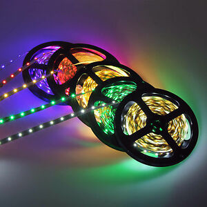 STRISCIA-LED-blu-rosa-rosso-verde-bianco-SMD-60-LED-1-metro-ALTISSIMA-LUMINOSITA