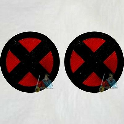 Rogue Silhouette Embroidered Patch Marvel Comics X-men Xavier School Wolverine