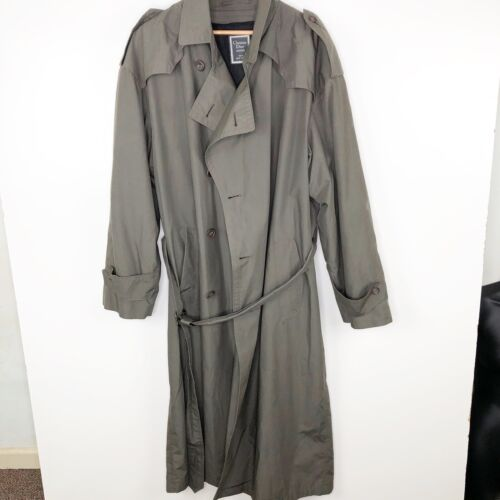 Vintage Christian Dior Monsieur Trench Coat Size 4