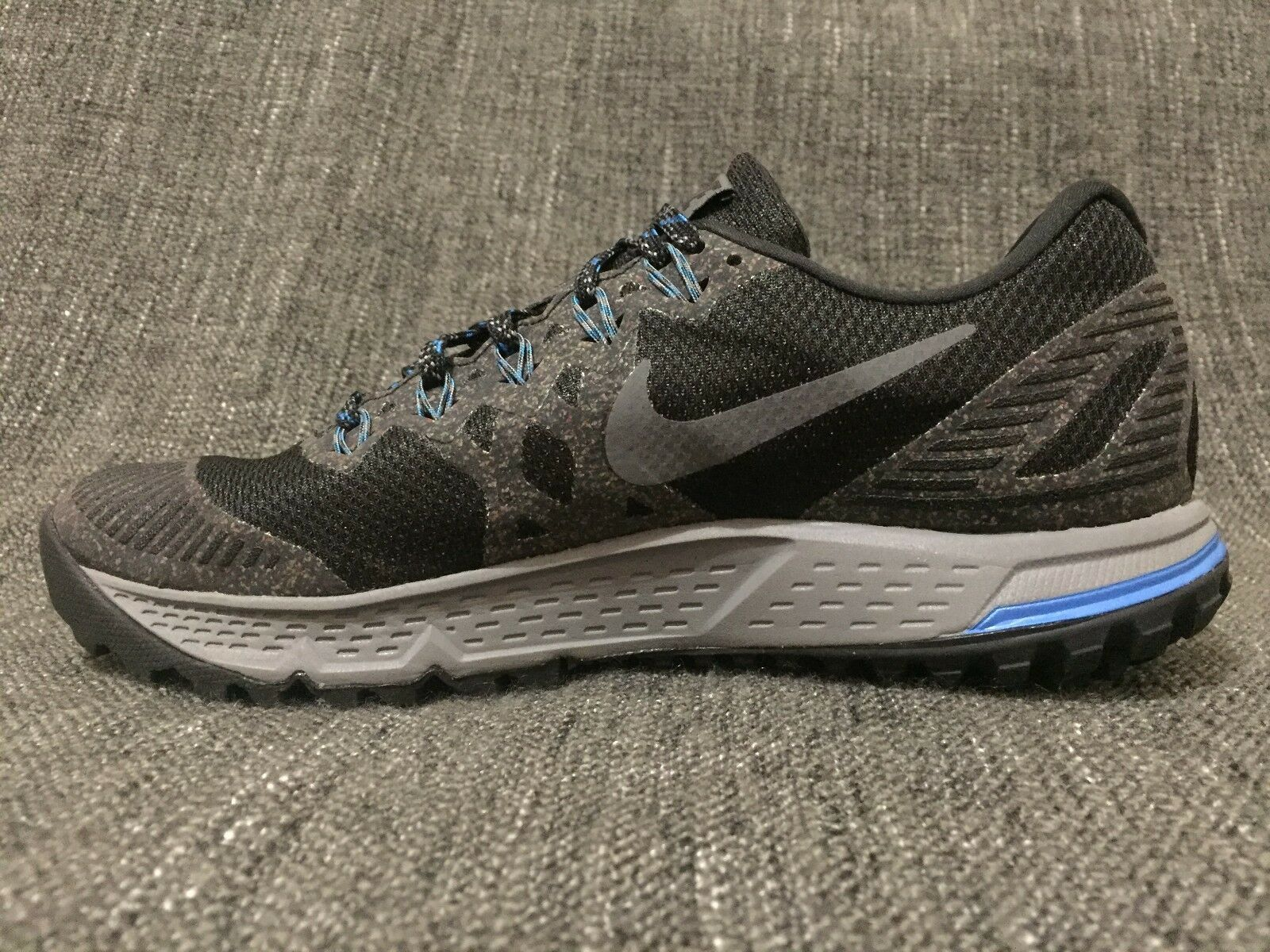 Nike air zoom gore wildhorse iii 3 gtx gore zoom - tex - wasserdicht 805569-001 schwarz - grauen sz - 7 25f9dc