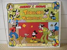 Walt Disney Mickey Mouse Topolino ventriloquo  Editrice Comic Art (BH3)