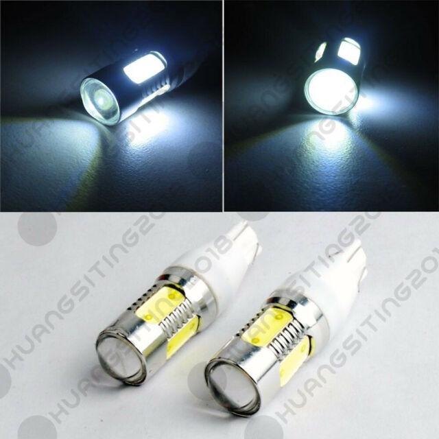 Pair COB LED Backup Reverse Bulbs For 14-18 Silverado 1500 07-up Nissan GTR R35