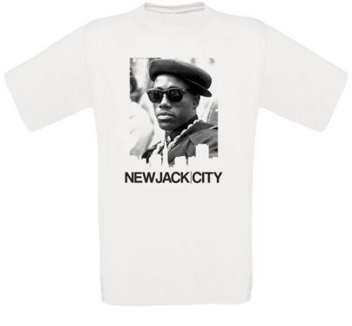 New Jack City Nino Brown Gangsta Culte Movie t-shirt toutes tailles NEUF