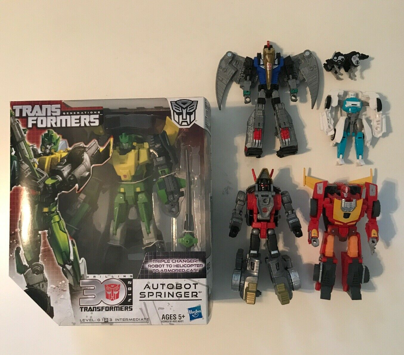 Transformers Generations, Power of the Prime, LOT OF 6  Springer, Dinobots, IDW