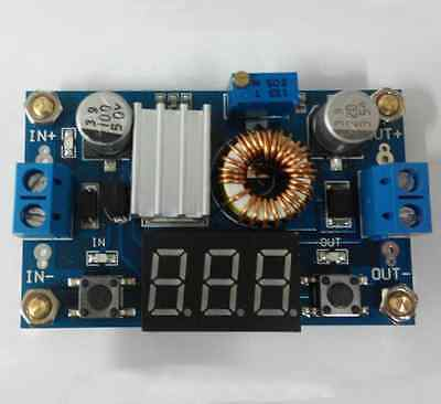 5A DC-DC Adjustable Step-down Voltmeter Efficiency With Pillars good quality