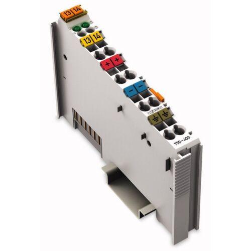 Wago 750-400 2 canal de entrada digital 24VDC 3ms 000229