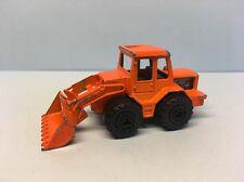 Diecast Majorette Tractor/Tracteur Orange 1/87 Wear & Tear Good Condition