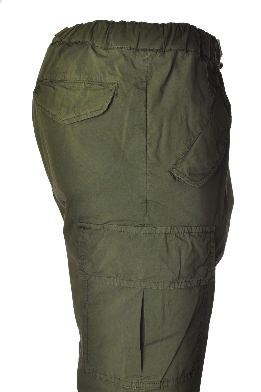 White sand  -  Pants - Male - Green - 3833429A180810