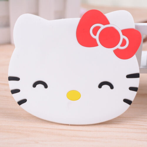 1Pc hello Kitty Drink Coaster Tea Coffee Cup Mat Pad Kitchen TableDecor Placemat