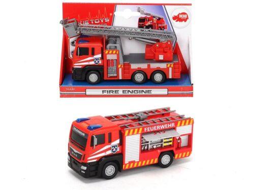 Dickie Toys 203712008 - Fire Engine / Feuerwehr - Gerätewagen (Ca. 17cm) - Neu