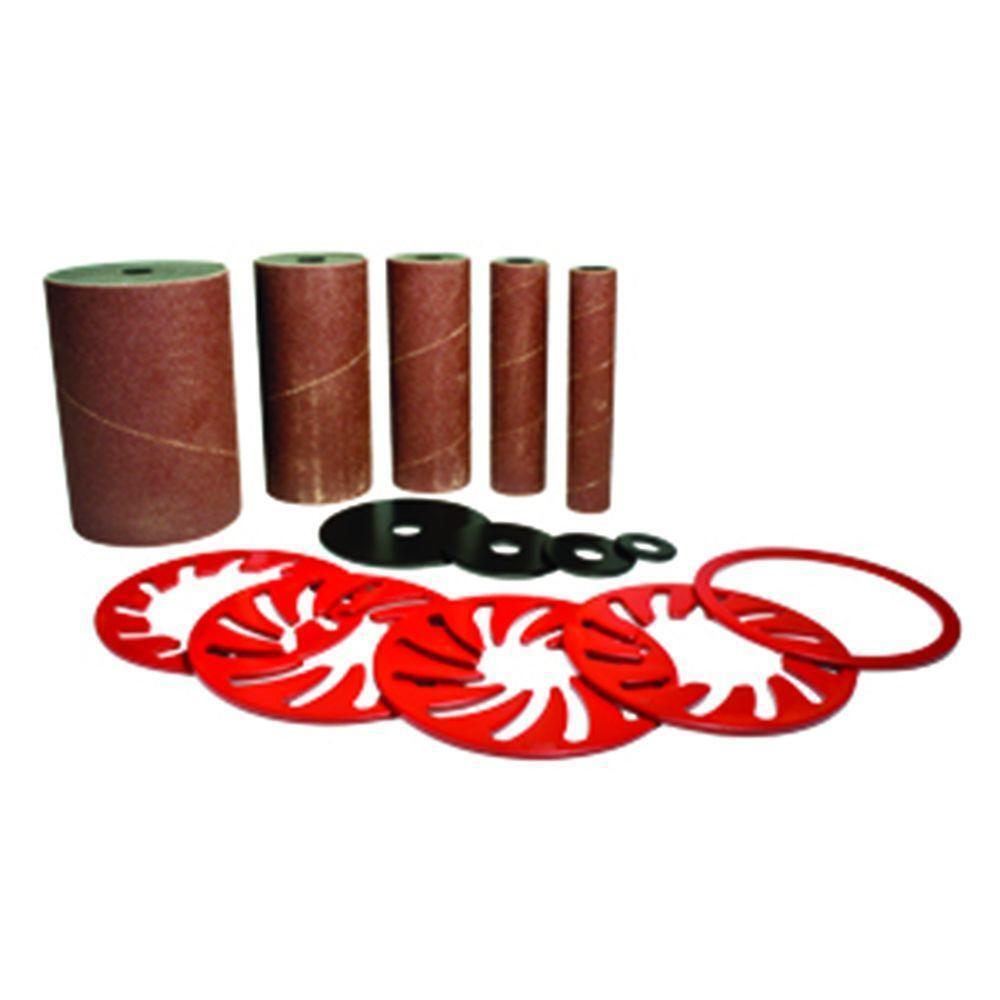 Delta Drum Sleeve Sanding Oscillating Spindle Sander Sandpaper Tool Accessory