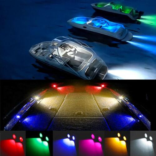 Multi-color optional Boat LED Waterproof Deck Lights  Bass Pontoon Ski Interior