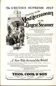 Advertising-Thos-Cook-amp-Son-Mediterranean-Steamer-Cruise-Homeric-Fanconia-1926