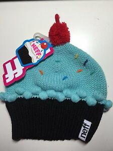 23488e42313 Image is loading Neff-Cupcake-Beanie-Women-039-s-Knit-Hat